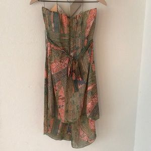 Tyche Dresses - Tyche strapless dress